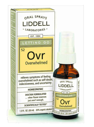 Liddell Laboratories Letting Go Overwhelmed Oral Spray Perspective: front