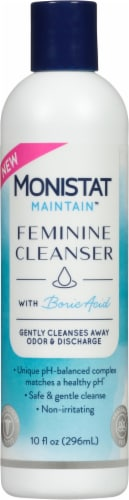 Monistat Maintain Feminine Cleanser with Boric Acid Perspective: front