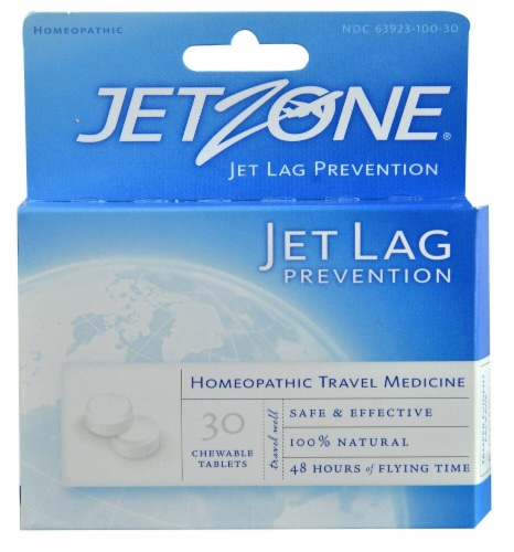 Jetzone  Jet Lag Prevention Perspective: front