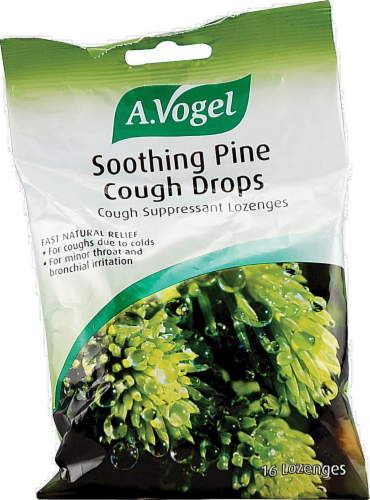 A. Vogel Soothing Pine Cough Drops Perspective: front