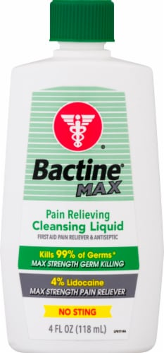 Bactine Max First Aid Spray Perspective: front
