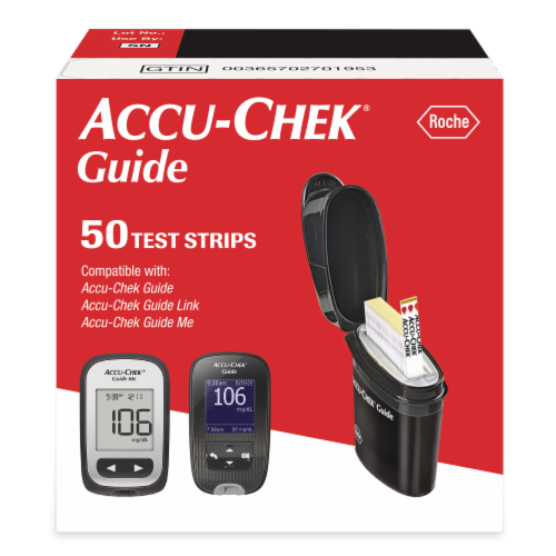 Accu-Chek Guide Test Strips Perspective: front
