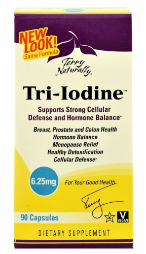 Terry Naturally  Tri-Iodine™ Perspective: front