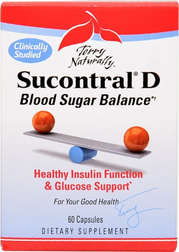 Terry Naturally  Sucontral® D Blood Sugar Balance Perspective: front
