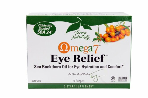 Terry Naturally Omega7® Eye Relief Softgels Perspective: front