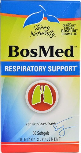 Terry Naturally  BosMed™ Respiratory Support Perspective: front