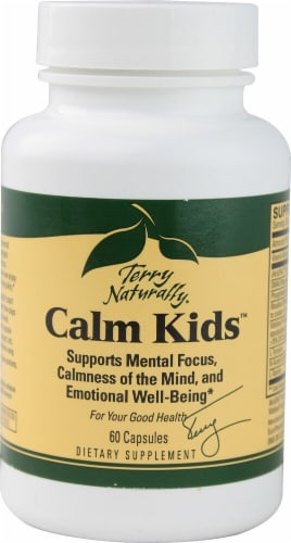 Terry Naturally Calm Kids Capsules Perspective: front
