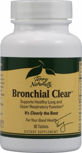 Terry Naturally Bronchial Clear Tablets Perspective: front