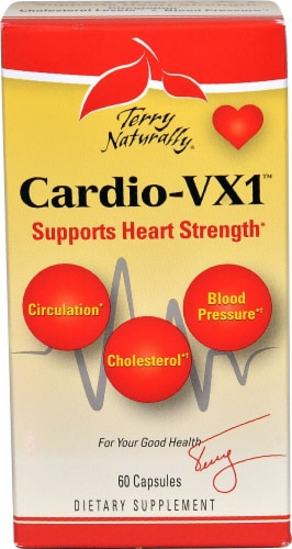 Terry Naturally Cardio-VX1™ Supplements Perspective: front