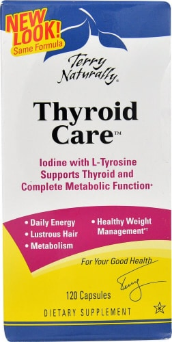 Terry Naturally  Thyroid Care™ Perspective: front