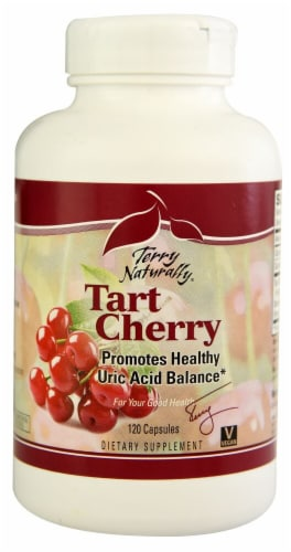 Terry Naturally Tart Cherry Capsules Perspective: front