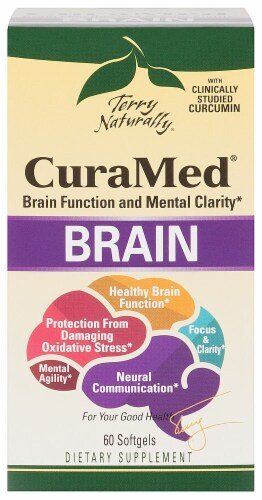 Terry Naturally  CuraMed® Brain Perspective: front