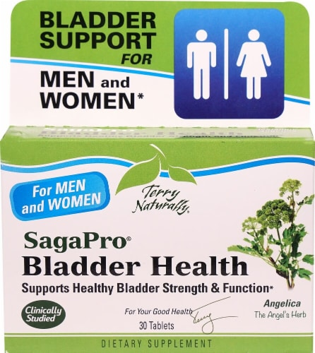 Terry Naturally SagaPro Bladder Health Tablets Perspective: front