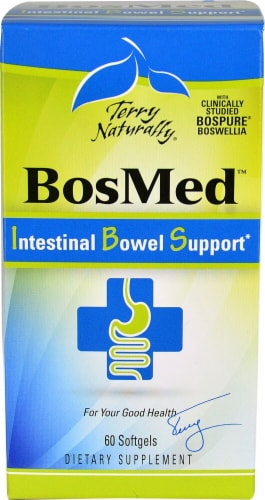 Terry Naturally  BosMed™ Intestinal Bowel Support Perspective: front