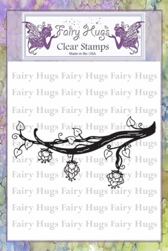 Fairy Hugs Stamps - Dragon Fruit Branch Perspective: front
