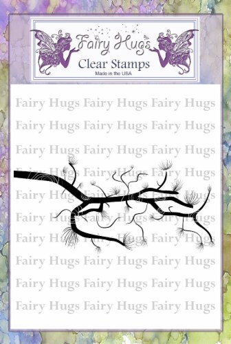 Fairy Hugs Stamps - Pine Branch Perspective: front