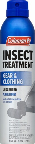 Coleman Gear & Clothing Insect Treatment Aerosol Perspective: front