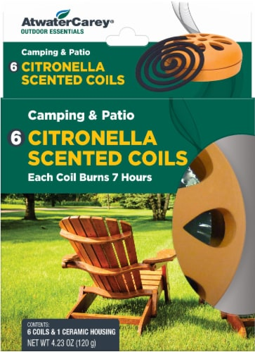 Atwater Carey Citronella Scented Coils Perspective: front