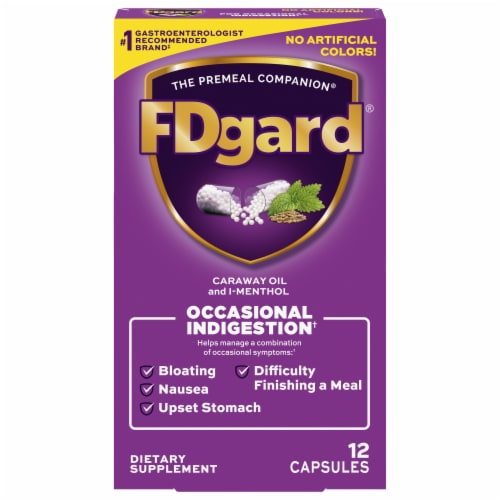 FDgard Dietary Management Pill Perspective: front