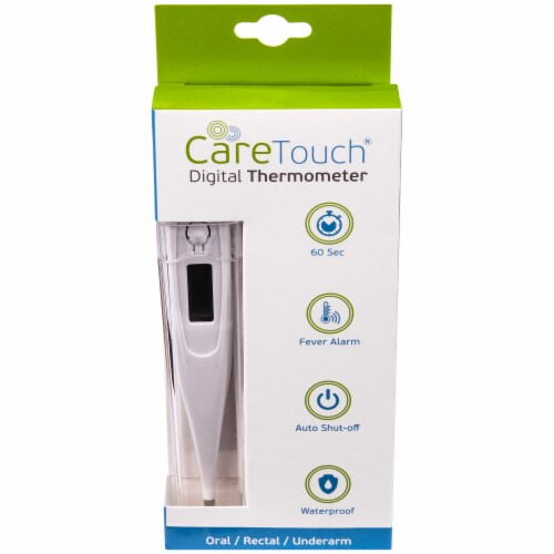 CareTouch Digital Thermometer - Oral/Rectal/Underarm Perspective: front