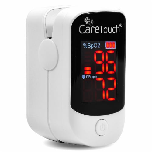 CareTouch Pulse Oximeter Perspective: front