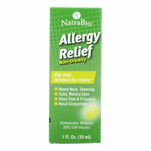 NatraBio Allergy Relief Perspective: front