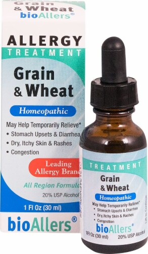 BioAllers  Grain and Wheat Allergy Treatment Perspective: front