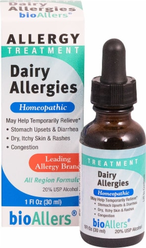 BioAllers  Dairy Allergies Treatment Perspective: front