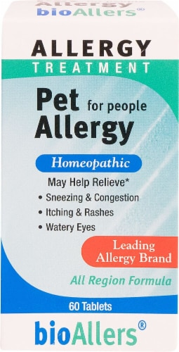 BioAllers  Pet Allergy Treatment For People Perspective: front