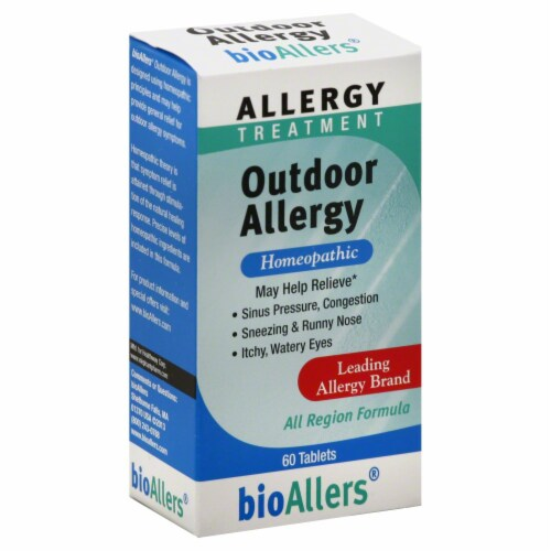 Bio Allers Outdoor Allergy Homeopathic Treatment Perspective: front