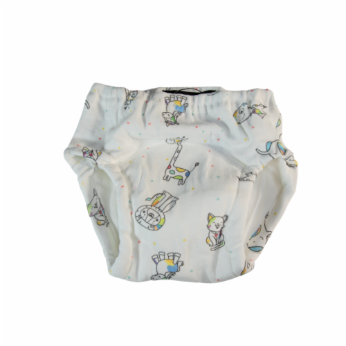 Toddler Training Potty Underwear (Animal Print, 3T) Perspective: front
