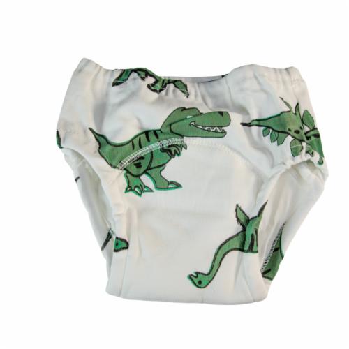 Toddler Training Potty Underwear (Dinosaur, 3T) Perspective: front