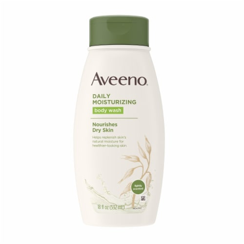Aveeno Daily Moisture Body Wash Perspective: front