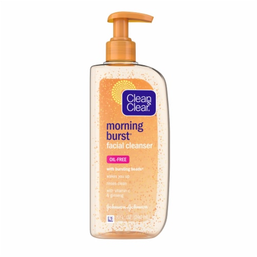Clean & Clear Morning Burst Daily Face Wash Perspective: front