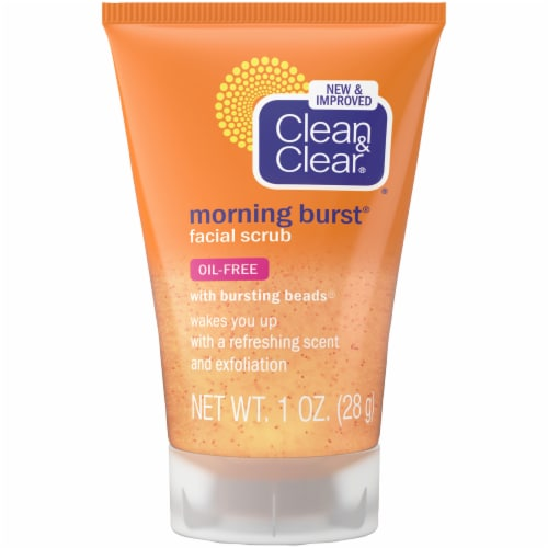 Clean & Clear Morning Burst Facial Scrub Perspective: front