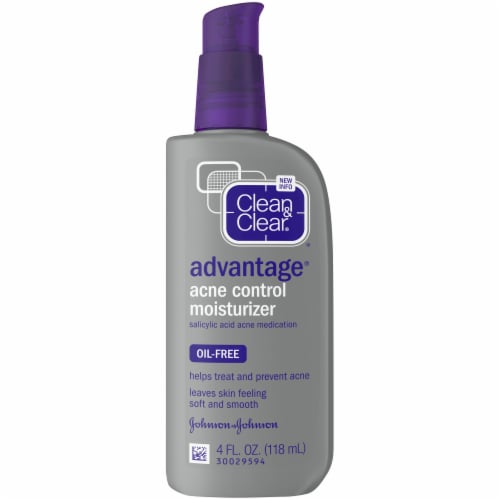 Clean & Clear Advantage Oil-Free Acne Control Moisturizer Perspective: front