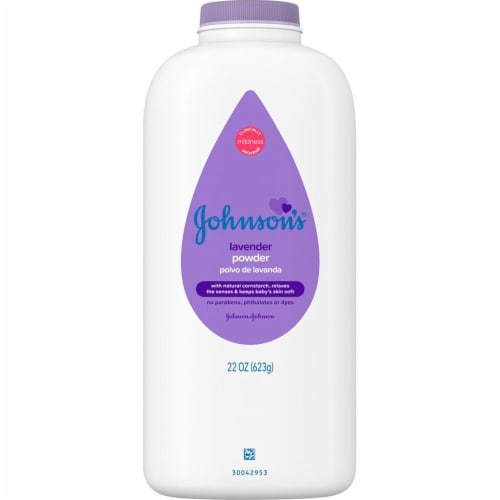 Johnson's  Baby Powder Lavender Perspective: front