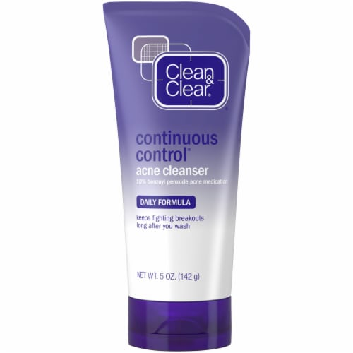 Clean & Clear Continuous Control Acne Face Wash Perspective: front