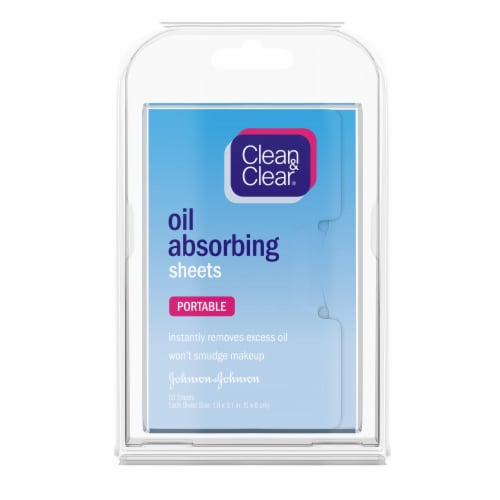 Clean & Clear Oil Absorbing Sheets Perspective: front