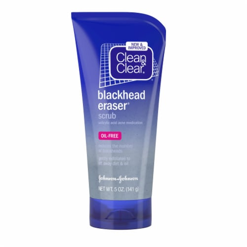 Clean & Clear Blackhead Eraser Facial Scrub Perspective: front