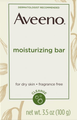Aveeno Moisturizing Bar Perspective: front