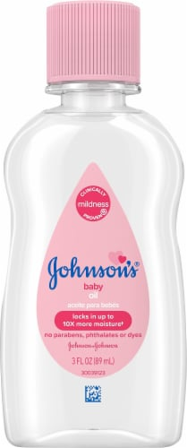 Johnson's Baby Oil Perspective: front
