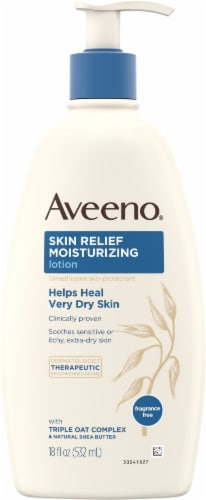 Aveeno Skin Relief 24-Hour Moisturizing Lotion Perspective: front