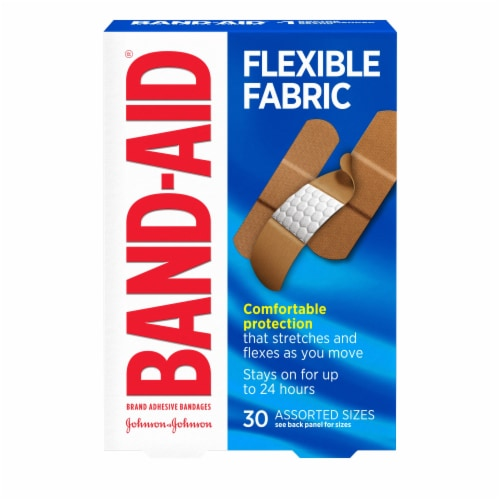 Band-Aid Flexible Fabric Bandages Perspective: front