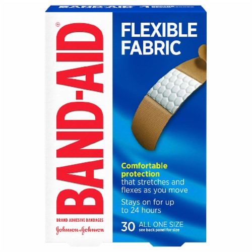 Band-Aid Flexible Fabric Strips Perspective: front