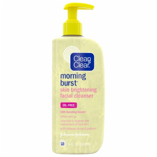 Clean & Clear® Morning Burst® Skin Brightening Facial Cleanser Perspective: front
