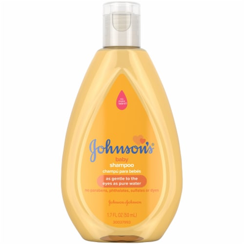 Johnson's Travel Size Baby Shampoo Perspective: front