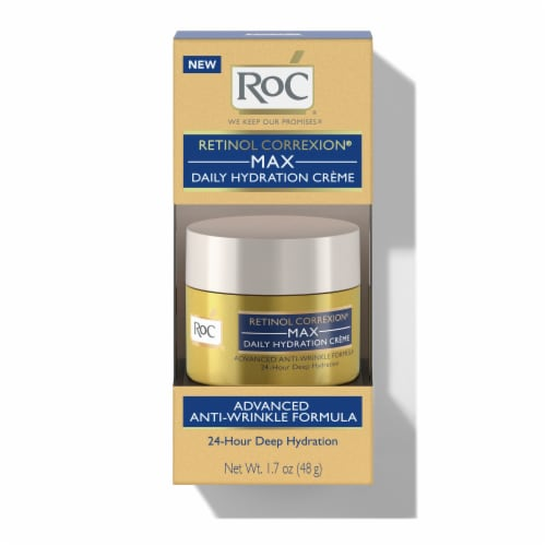 RoC Retinol Correxion Max Daily Hydration Creme Perspective: front