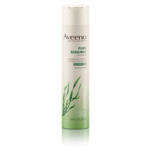 Aveeno Pure Renewal Shampoo Perspective: front