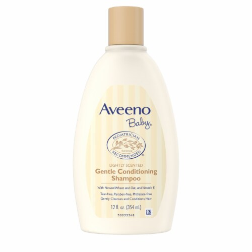 Aveeno Baby Lightly Scented Gentle Conditioning Shampoo Perspective: front